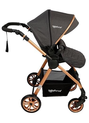 Prava Baby Force Fora Travel Sistem Bebek Arabası Antrasit Antrasit